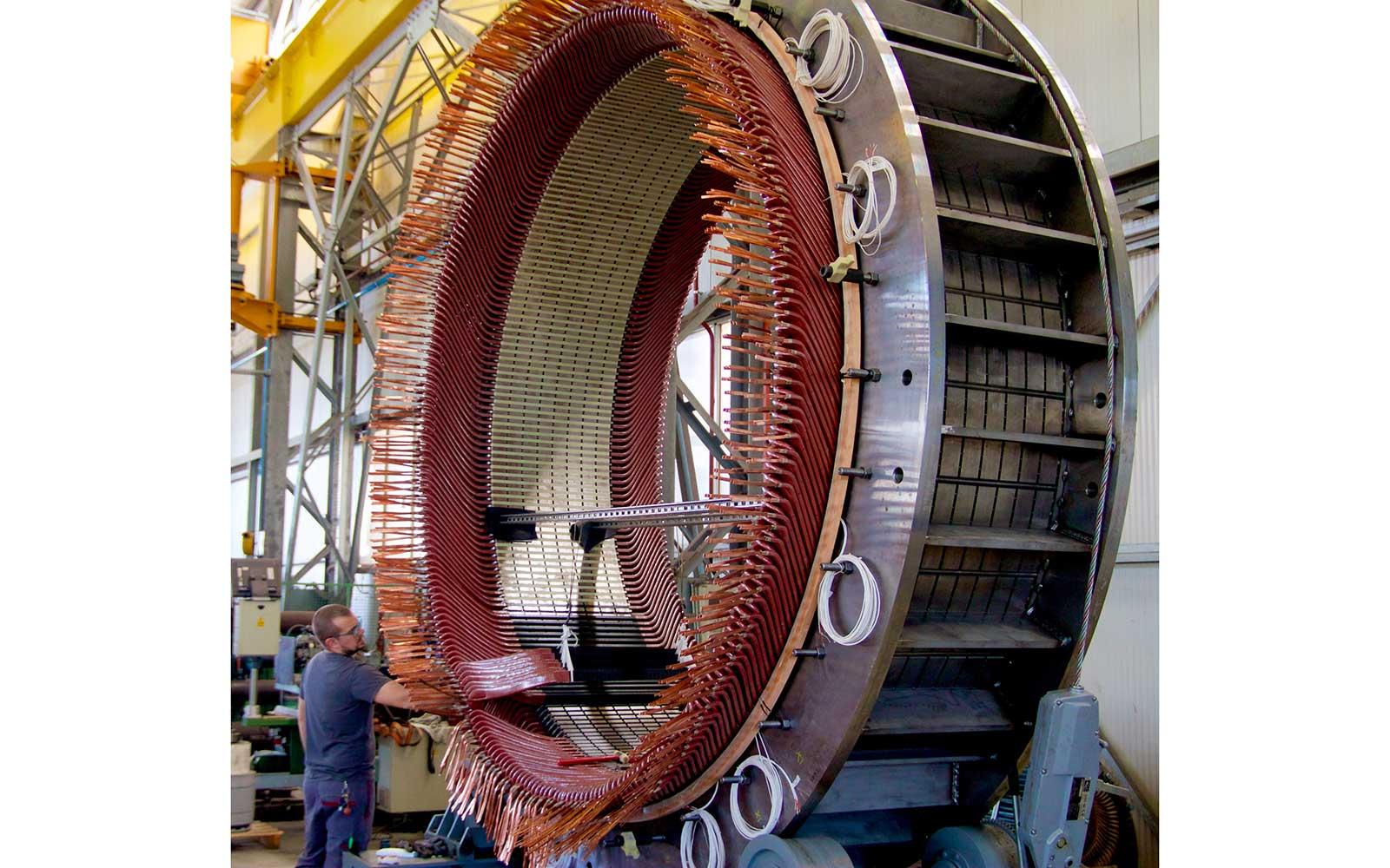costruzione motori elettrici